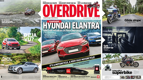 October 2016 issue of OVERDRIVE now on stands