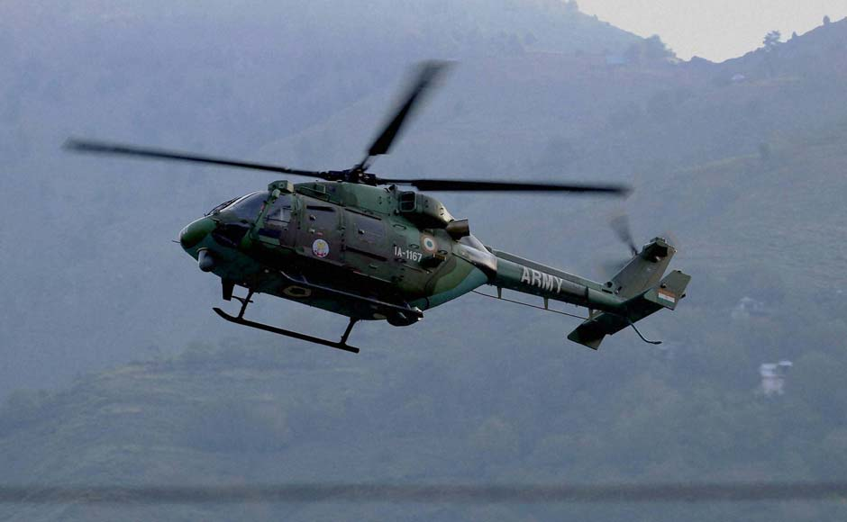 Helicopters were pressed into service to deploy Special Forces of the Army and to evacuate the injured. PTI