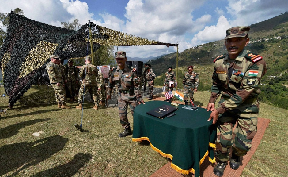 In addition to small tactical operations in the mountainous terrain, the troops were also given opportunities to enhance their skills in specialised mountain warfare techniques like rock craft, rock climbing and cliff assault. PTI