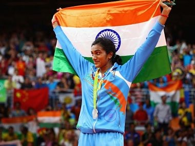 File photo of PV Sindhu. Getty Images