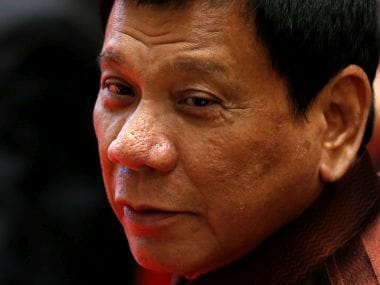 File photo of Philippine president Rodrigo Duterte. Reuters