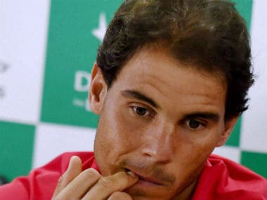Rafael Nadal's pull-out will come as a huge blow for Indian tennis fans. PTI