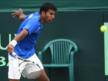 File photo of India's Rohan Bopanna. AFP