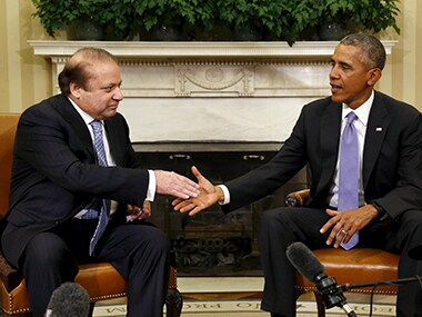 A file photo of Nawaz Sharif and Barack Obama. Reuters