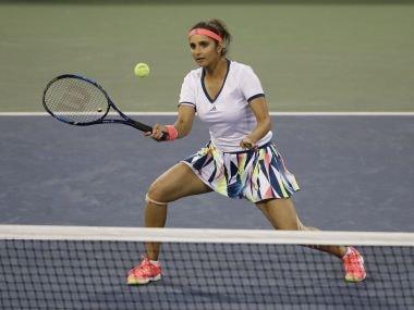 Sania Mirza at the US Open. AP