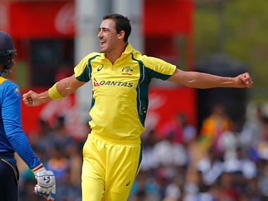 Mitchell Starc has been instrumental in helping Australia win the ODI series against Sri Lanka. AP