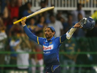 Tillakaratne Dilshan played his final international innings in the 2nd T20I against Australia. AP