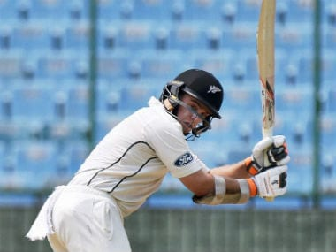 Tom Latham top-scored for New Zealand with a 97-ball 55. PTI
