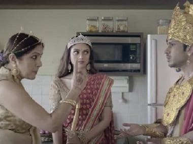 A still from the short film. Image via Youtube