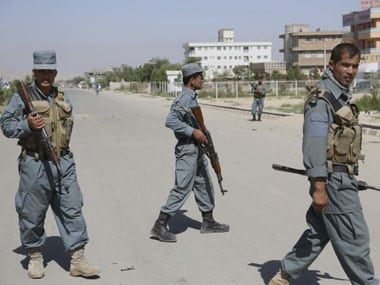 File image of Afghanistan security force. AP