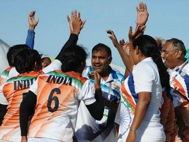 Indian women's kabaddi team won the gold medal at the Asian Beach Game 2016. Image courtesy: Facebook/All India Radio News