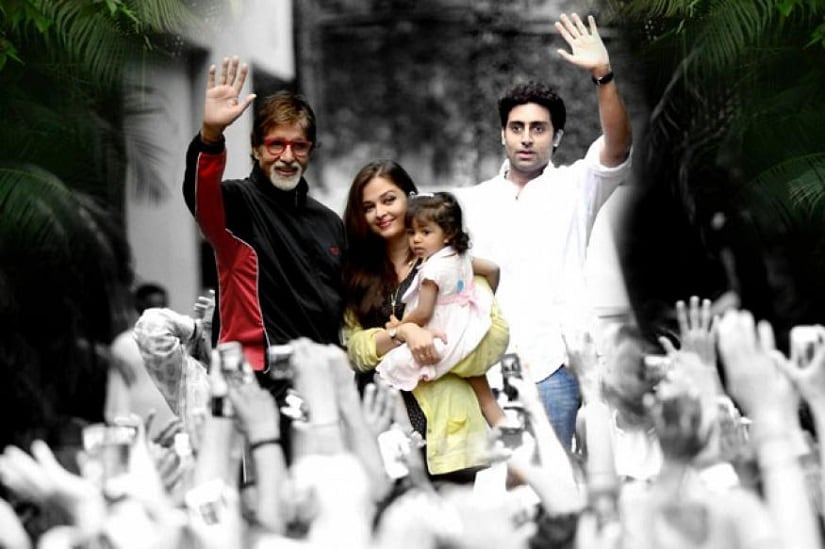 Amitabh Bachchan pens a letter to granddaughters Navya Aaradhya