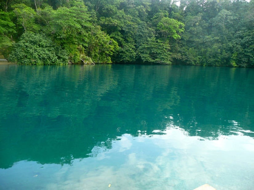 The Blue Lagoon in Jamaica. Image courtesy: Creative Commons