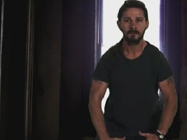 Shia LaBeouf. Image via Youtube