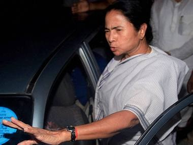 File image of West Bengal CM Mamata Banerjee. PTI