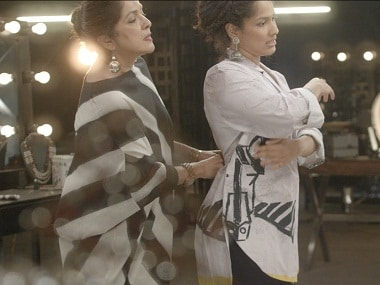 Masaba and Neena Gupta in the video. Screengrab from YouTube