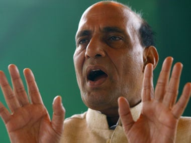 A file photo of Rajnath Singh. Reuters