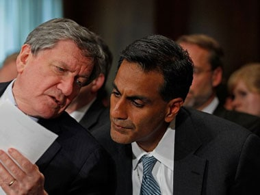 File image of US ambassador Richard Rahul Verma. AFP