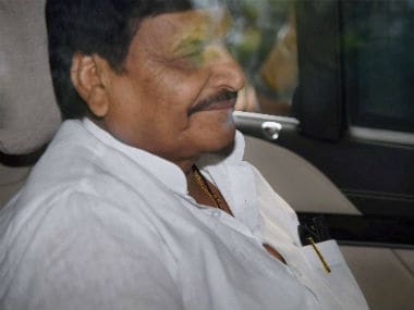 File photo of Shivpal Singh Yadav. PTI