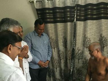 File image of Jain monk Tarun Sagar. CNN-News18