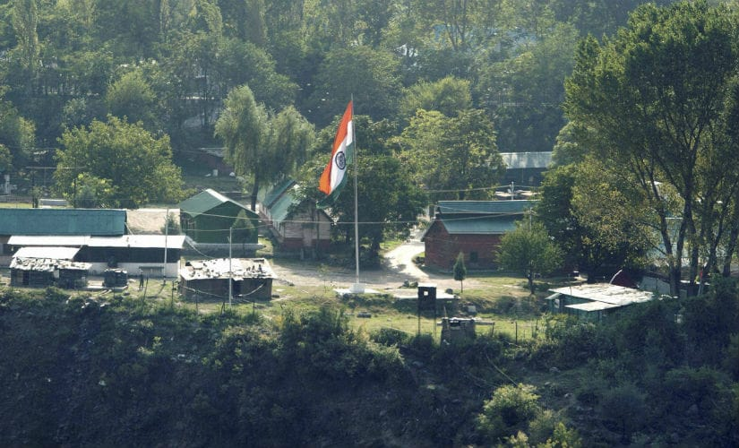 The army base which was attacked in Uri. PTI
