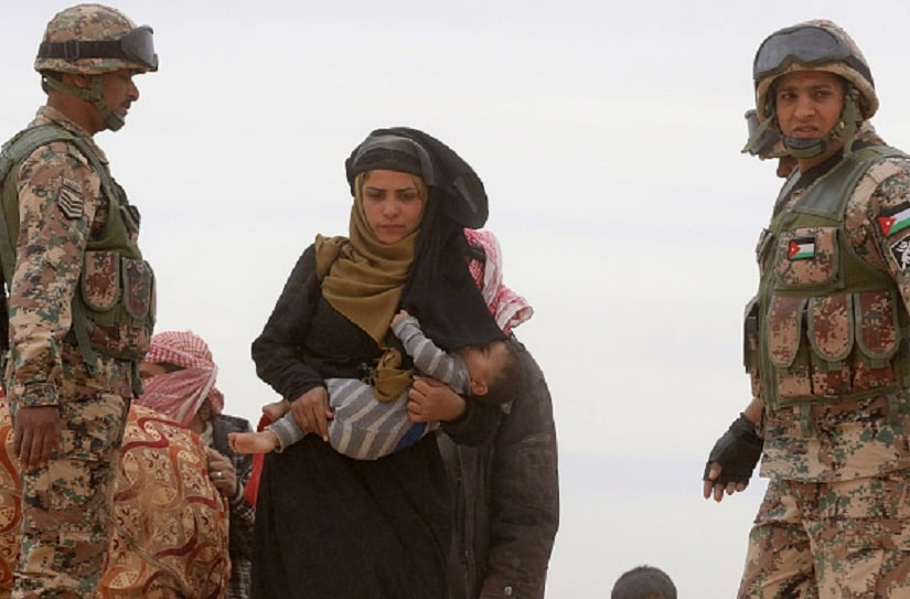 The effects of conflict are felt hardest by women and children. Getty Images/For representation only
