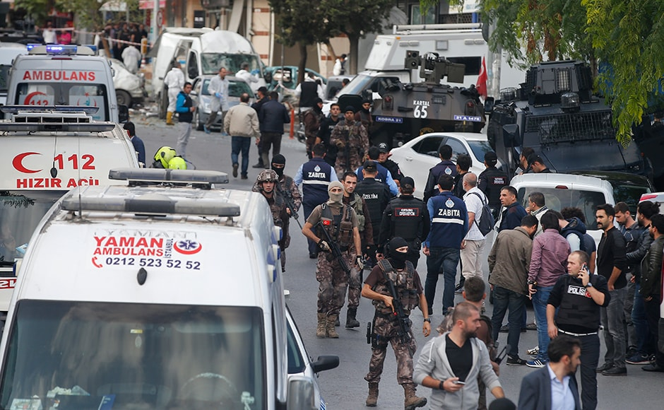 Turkey has already been hit by a bloody year of militant attacks in its two biggest cities that have left dozens of people dead and put the country on a high security alert. AP