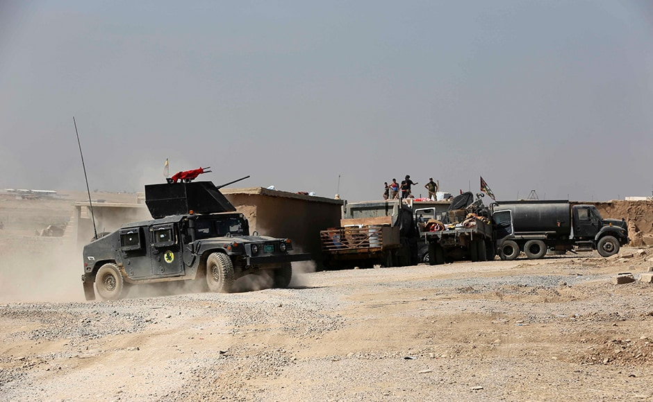 The push to retake Mosul will be the largest military operation in Iraq since American troops left in 2011 and, if successful, the biggest blow yet to the Islamic State. Al-Abadi pledged the fight for the city would lead to the liberation of all Iraqi territory from the militants this year. AP