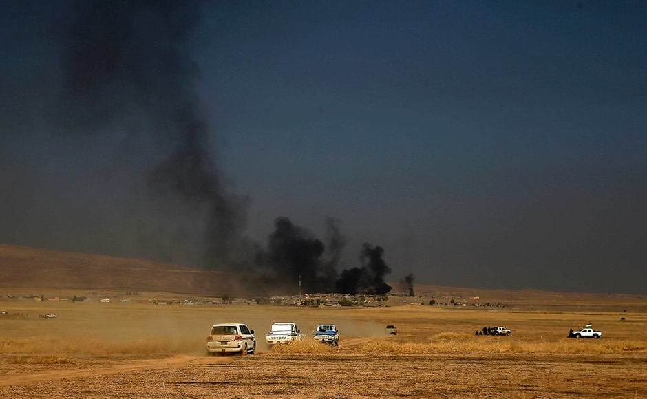 Iraqi government and Kurdish forces, backed by US-led coalition air and ground support, launched coordinated military operations early on Monday as the long-awaited fight to wrest the northern city of Mosul from Islamic State fighters got underway. AP