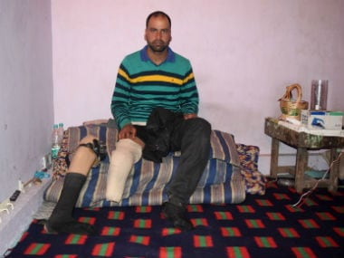 Irshad Ahmad was a teenager when he accidentally stepped on a landmine. Image courtesy: Sameer Yasir/Firstpost