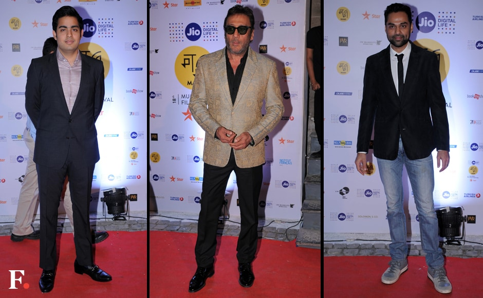 The eight-day long festival will screen 175 films, including features, documentaries and short films from 54 countries. Mukesh Ambani's son Akash Ambani, Jackie Shroff and Abhay Deol graced the inauguration ceremony. Sachin Gokhale/Firstpost
