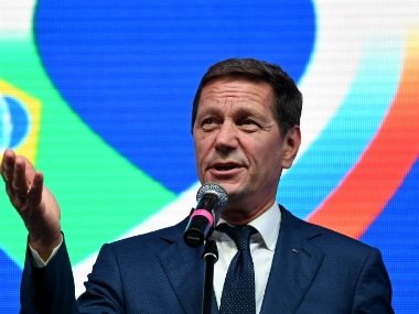 Alexander Zhukov has decided to step down as Russia's Olympic chief. AFP