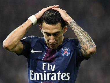 Di Maria has failed to shine for PSG this season. AFP