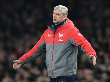 Arsene Wenger will have to manage without Lucas Perez for 8 weeks. AFP