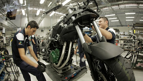 BMW Motorrad plant in Brazil begins production