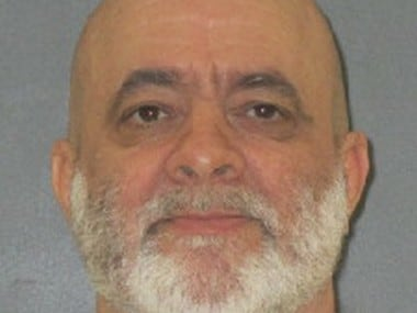 This undated photo provided by the Texas Department of Criminal Justice shows death row inmate Barney Fuller. On Wednesday, Oct. 5, 2016, Fuller, 58, is set for lethal injection for the May 2003 killing rampage outside Lovelady, about 100 miles north of Houston.  (Texas Department of Criminal Justice via AP)