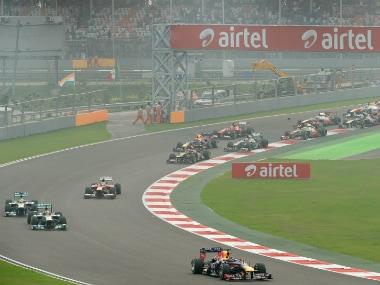 File image of the Buddh International Circuit. AFP