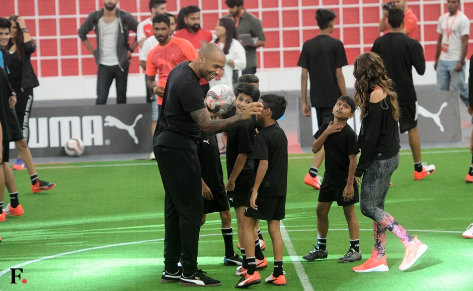 Young fans of the French superstar were in for a treat. Image Credit: Sachin Gokhale/Firstpost
