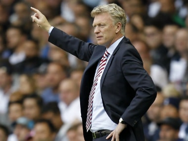 File image of David Moyes. AFP