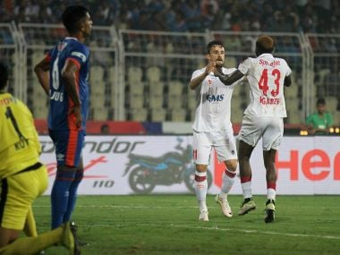 Delhi Dynamos recorded their second win of the season at expense of FC Goa. Twitter@ISL