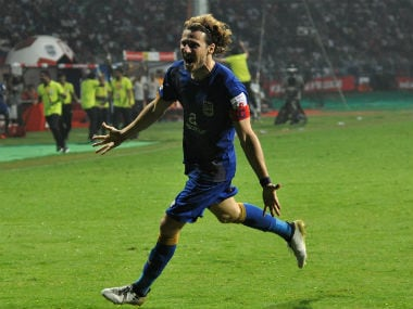 Diego Forlan scored in the minute. AFP