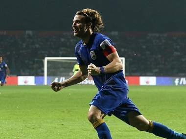 Diego Forlan revelled in a No 10 playmaker role for Mumbai City FC. ISL