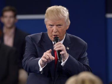 Donald Trump's vitriol could not save him during the second presidential debate. AP