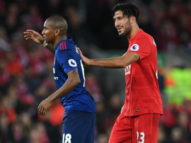 Emre Can's solid display ensured Liverpool didn't miss injured Wijnaldum. AFP