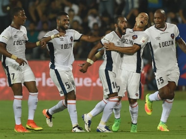 File image of FC Goa players. AFP