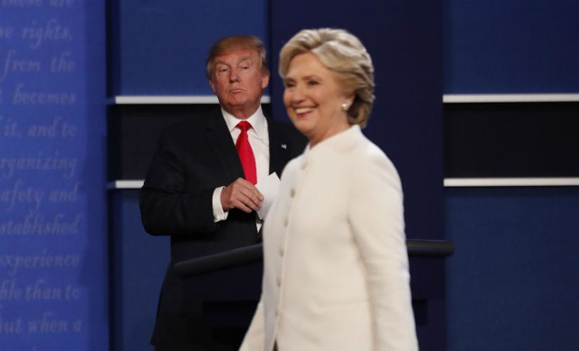 Donald Trump and Hillary Clinton. File photo. Reuters
