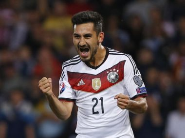 File photo of Ilkay Gundogan. Reuters