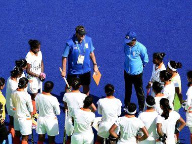 File photo of Indian Women Hockey team. AFP