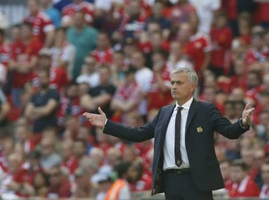Manchester United manager Jose Mourinho has been with Chelsea twice before. AFP