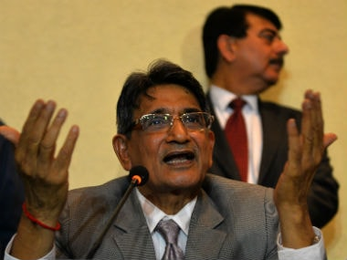 File photo of Justice RM Lodha. AFP